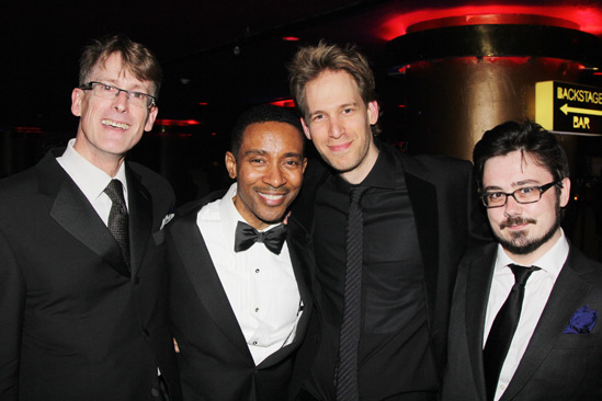 'Motown' Opening Night — Dick Scanlan — Charles Randolph-Wright — David Korins — Paul Brodie