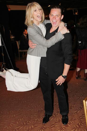 2013 Tony Nominee Brunch — Judith Light — Billy Magnussen