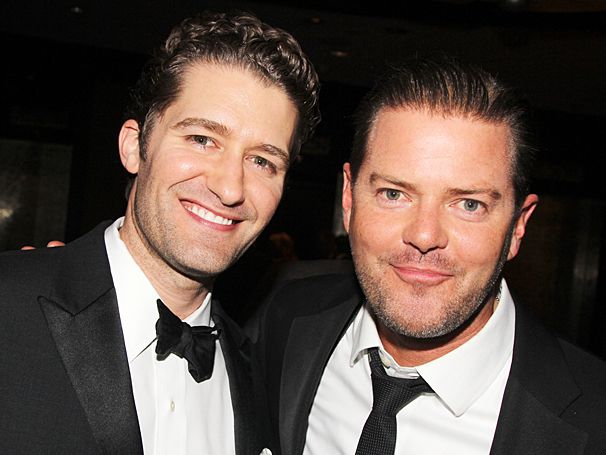 New York Pops Gala - Honoring Marc Shaiman and Scott Wittman - OP - 4/14 - Matthew Morrison - Clarke Thorell