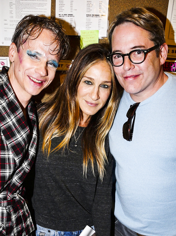 Hedwig and the Angry Inch - John Cameron Mitchell - Farewell - 4/15 - John Cameron Mitchell - Sarah jessica Parker - Matthew Broderick