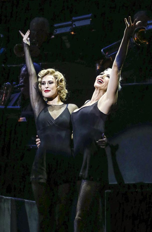Chicago - Rumer WIllis - Opening - 9/15 - Rumer WIllis and Amra-Faye Wright