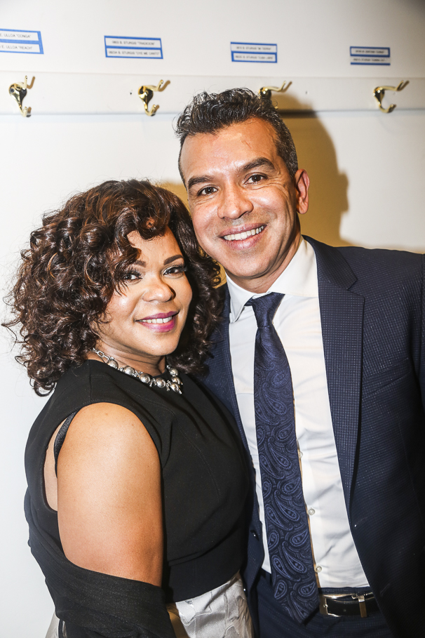 On Your Feet! - Opening - 11/15 - Sergio Trujillo with his associate choreographer Maria Torres