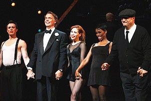 Miss America at Chicago - cast curtain call