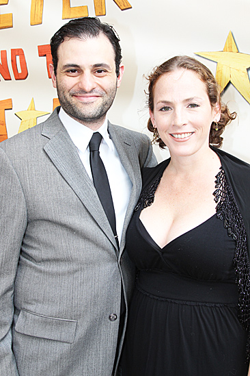 Peter and the Starcatcher Opening Night – Arian Moayed – Krissy Shields