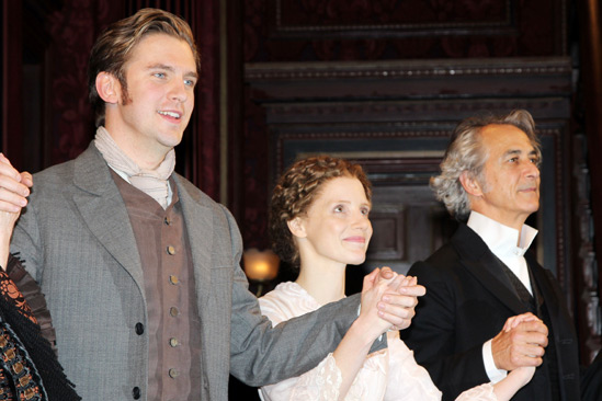 The Heiress – Opening Night – Dan Stevens – Jessica Chastain – David Strathairn