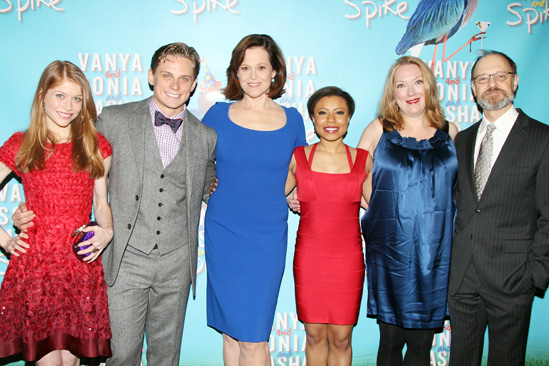 'Vanya and Sonia and Masha and Spike' Opening — Billy Magnussen — Genevieve Angelson — Sigourney Weaver — David Hyde Pierce — Kristine Nielsen — Shalita Grant