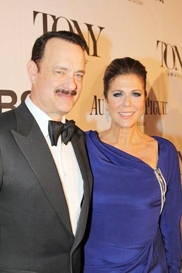 Tony Red Carpet-Tom Hanks- Rita Wilson