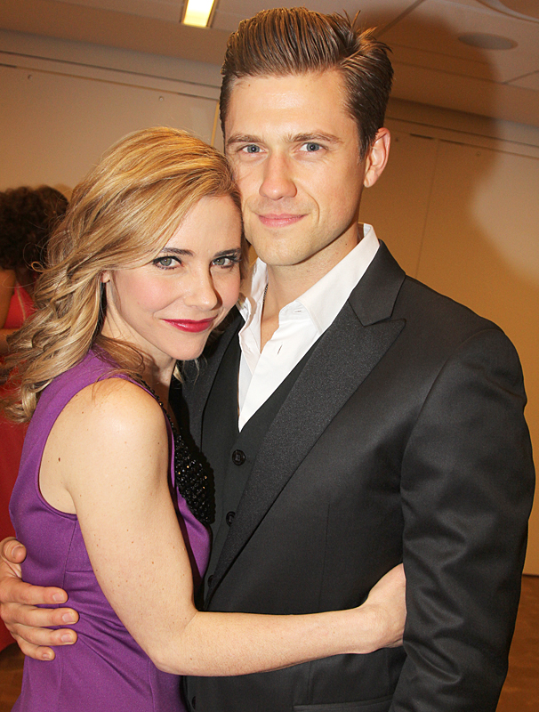 New York Pops Gala - Honoring Marc Shaiman and Scott Wittman - OP - 4/14 - Kerry Butler - Aaron Tveit