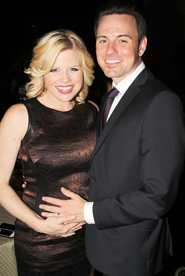 New York Pops Gala - Honoring Marc Shaiman and Scott Wittman - OP - 4/14 - Megan Hilty - Brian Gallagher