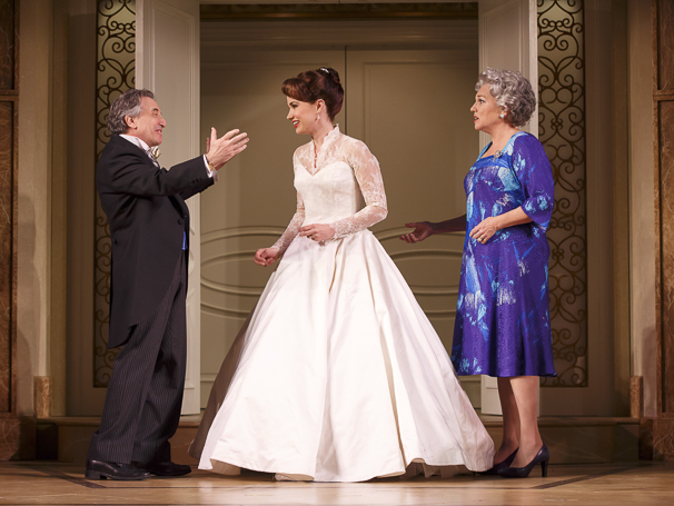 It Shoulda Been You - Show Photos - 4/15 - Chip Zien - Sierra Boggess - Tyne Daly