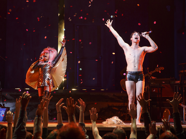 Hedwig and the Angry Inch - Show Photos - PS - 4/15 -Rebecca Naomi Jones - Darren Criss