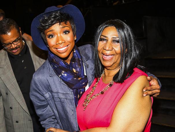 Chicago - Backstage - 5/15 - Brandy Norwood - Aretha Franklin