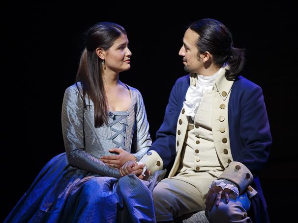 Hamilton - Show Photos - 8/15 -  Phillipa Soo  - Lin-Manuel Miranda
