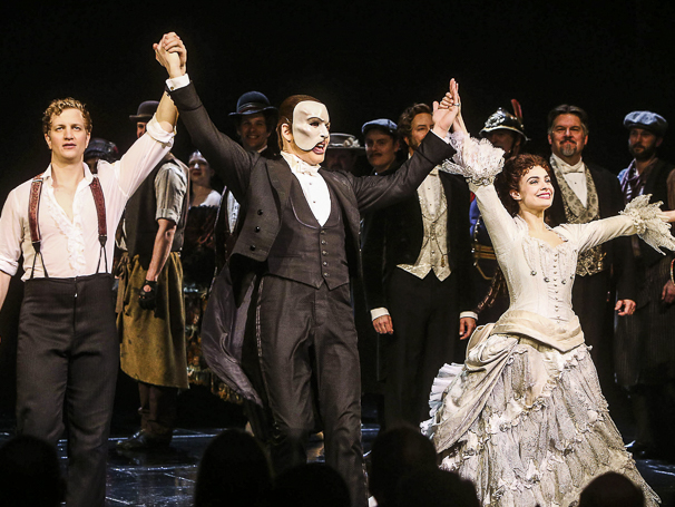 Phantom of the Opera - 28th Anniversary - 1/16 - Jeremy Hays, James Barbour and Julia Udine