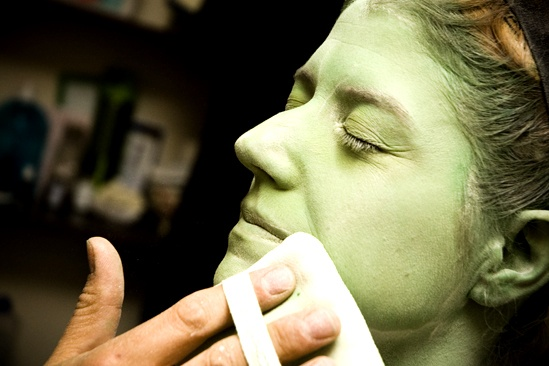 Nicole Parker Backstage at Wicked – powder