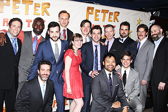 Peter and the Starcatcher Opening Night – The cast