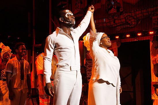 Fela Opening Night 2012 – Sahr Ngaujah – Melanie Marshall