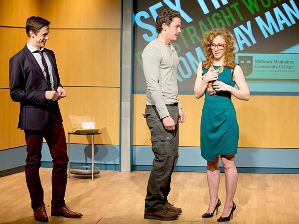 Sex Tips for Straight Women from a Gay Man - show photos - Jason Michael Snow - Andrew Brewer - Lindsay Nicole Chambers