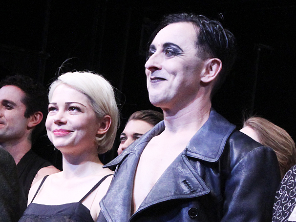 Cabaret - Opening - OP - 4/14 - Michelle Williams - Alan Cumming