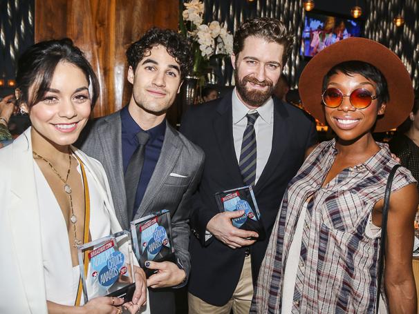 Broadway.com - Audience Choice Awards - 5/15 - Vanessa Hudgens - Darren Criss - Matthew Morrison - Brandy Norwood
