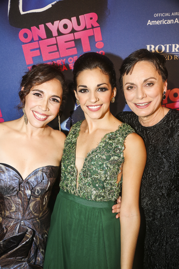 On Your Feet! - Opening - 11/15 - Andrea Burns, Ana Villafane and Alma Cuervo