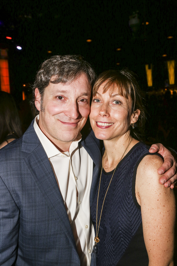 Noises Off - Show Photos - 1/16 - Jeremy Shamos - wife - Nina Hellman