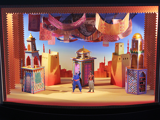 Aladdin - Meet and Greet - OP - Scenic designs