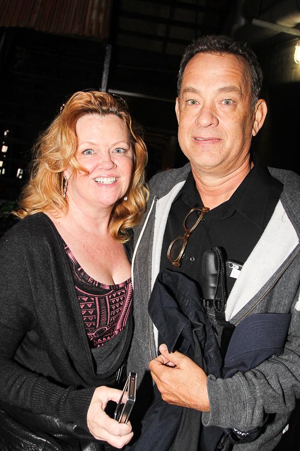 THe Last Ship - Backstage - 10/14 - Leah Hocking - Tom Hanks