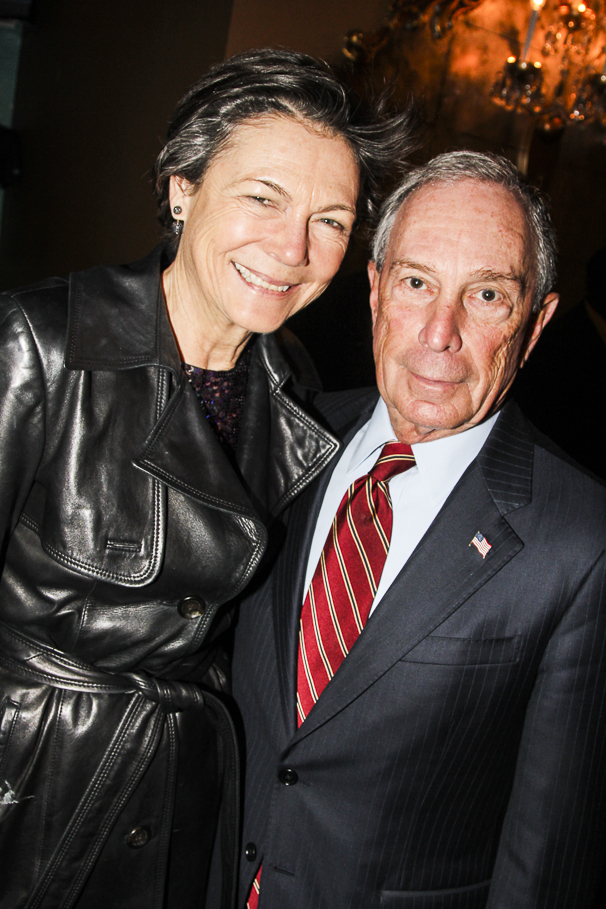 Finding Neverland - Opening - 4/15 - Michael Bloomberg - Diana Taylor