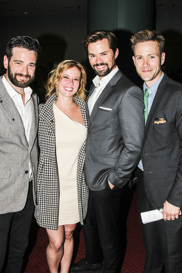 Fun Home - Opening - 4/15 - Colin Donnell - Patti Murin - Andrew Rannells - Christopher Hanke