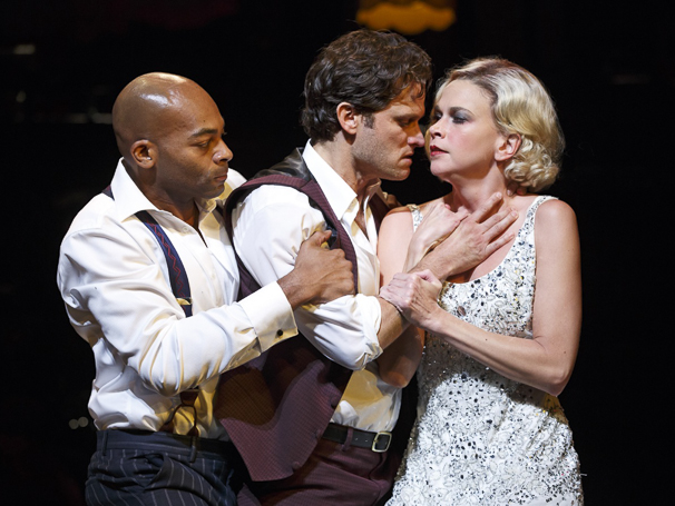 The Wild Party - Show Photos - 7/15 - Brandon Victor Dixon - Steven Pasquale - Sutton Foster