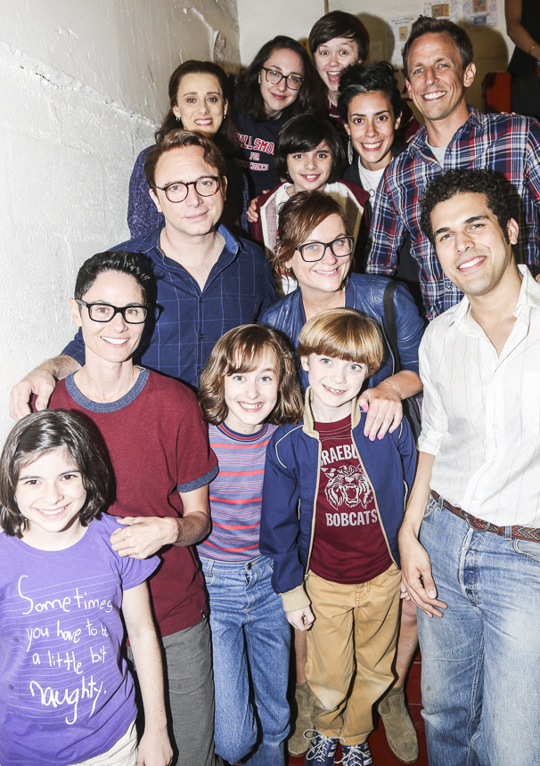Fun Home - backstage - 7/15