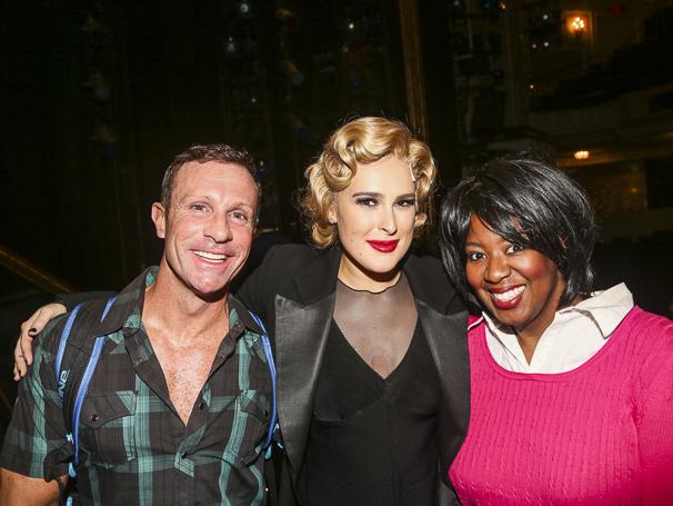 Chicago - Rumer WIllis - Opening - 9/15 - R. Lowe, Rumer WIllis and NaTasha Yvette Williams
