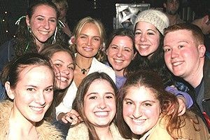 Something Wicked Benefit - Kristin Chenoweth with fans