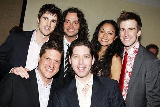 2009 Drama League Awards – Christopher Sieber – Matt Cavenaugh – Constantine Maroulis – James Barbour- Karen Olivo – Gavin Creel