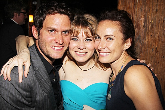 Peter and the Starcatcher Opening Night – Steven Pasquale – Celia Keenan-Bolger – Laura Benanti