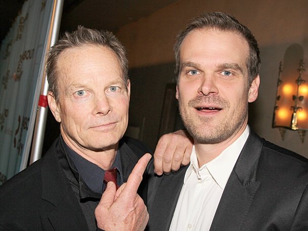 Roundabout Gala - Sam Mendes - OP - 3/14 - David Harbour - Bill Irwin