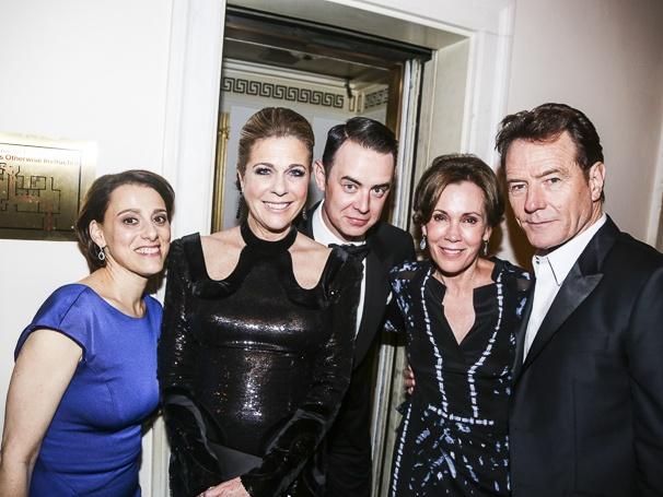 The Tony Awards - 6/15 - Judy Kuhn - Rita Wilson - Colin Hanks - Robin Dearden - Bryan Cranston