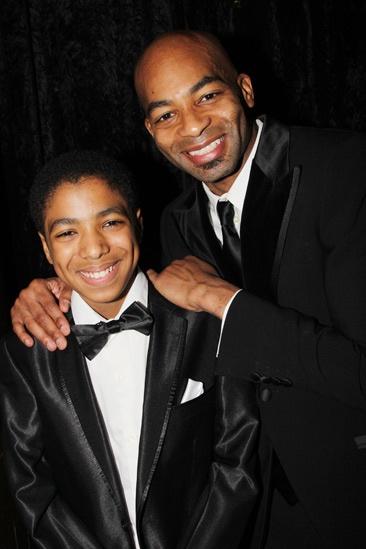 'Motown' Opening Night — Jibreel Mawry — Brandon Victor Dixon