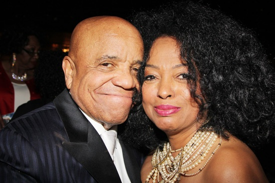 'Motown' Opening Night — Berry Gordy — Diana Ross