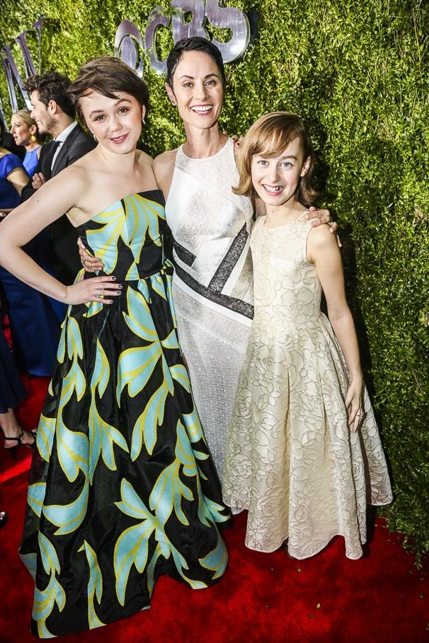 The Tony Awards - 6/15 - Emily Skeggs - Beth Malone - Sydney Lucas