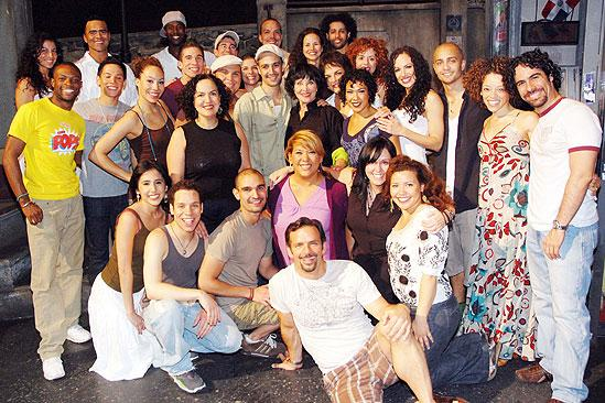Chita Rivera At In The Heights Full Cast Chita Rivera Lisa Mordente