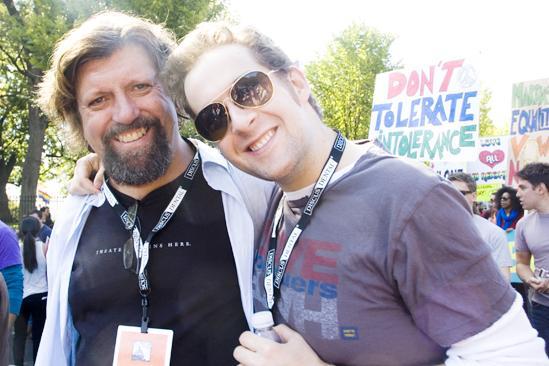 Hair at the National Equality March - Oskar Eustis - Andrew Kober