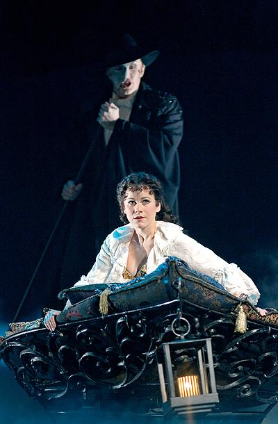 The Phantom of the Opera - London Show Photos - Gina Beck - David Shannon