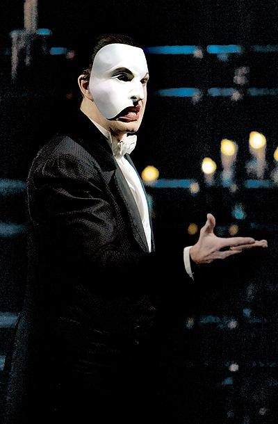 The Phantom of the Opera - London Show Photos - David Shannon