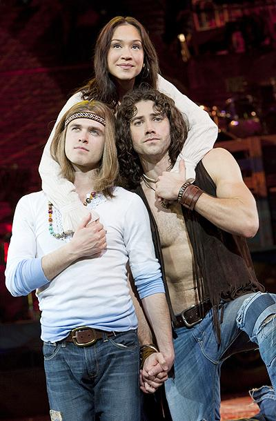 PHOTO FLASH: Ace Young and New Cast of Hair at First