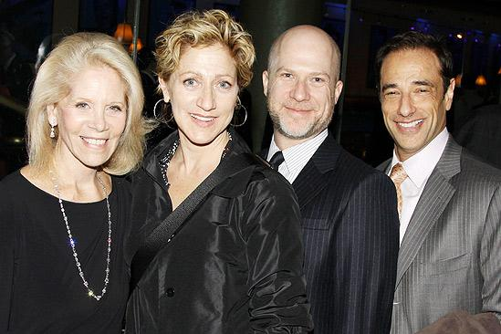 Come Fly Away opening –Daryl Roth – Edie Falco – Richie Jackson – Hal Luftig