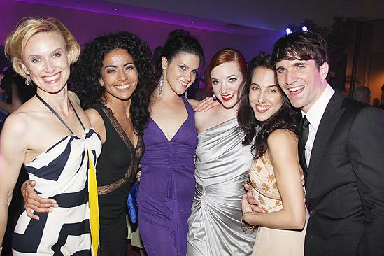 The Addams Family opening – Rachel de Benedet – Liz Ramos – Alena Watters – Samantha Sturm – Jessica Lea Patty – Charlie Sutton