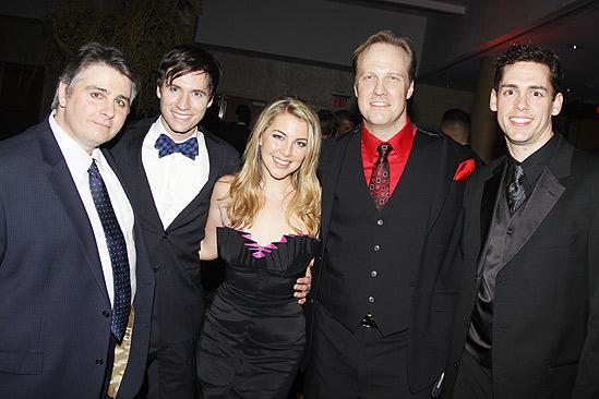 The Addams Family opening – Erick Buckley – Clark Johnsen – Morgan James – Fred Inkley – Barrett Martin