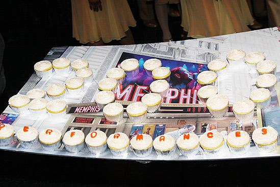 Memphis 200th Performance – cupcakes